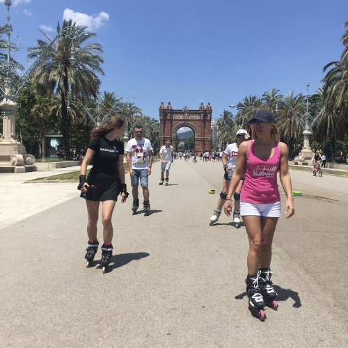 Rolltravel tours around the Barcelona