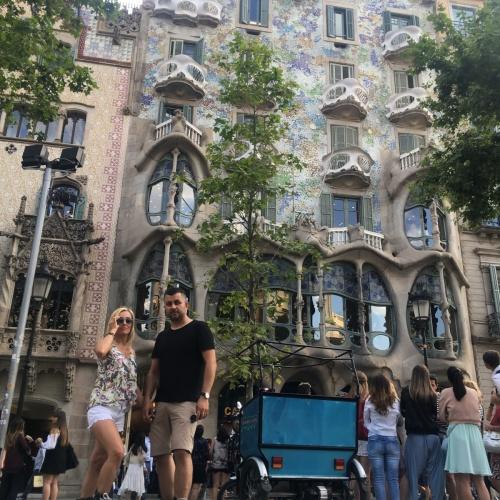 Barcelona na rolkach