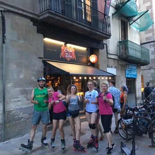Barcelona na kółkach / Tours on wheels